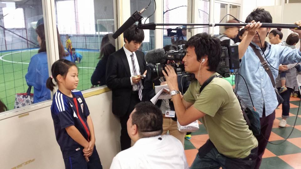 NHK総合大阪 取材!!