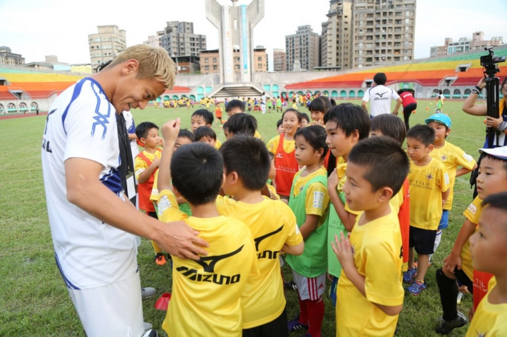 Keisuke Honda's SOLTILO GLOBAL SOCCER CAMP in Cambodia supported by TATERU開催決定!